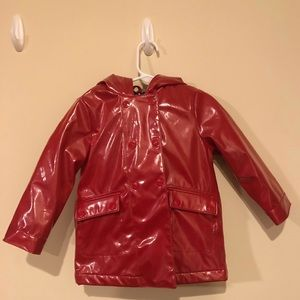 Baby Gap Red Raincoat